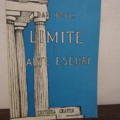LIMITE SI ALTE ESEURI-DAN BOTTA