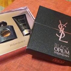 Set Yves Saint Laurent: Black Opium - Apă Parfum 30ml + Body Lotion - Parfum femeie Yves Saint Laurent, Seturi