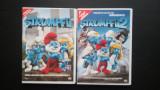 Stumpfii 1 si Strumpfii 2, filmele dublate in romana, 2 DVD -uri originale., columbia pictures