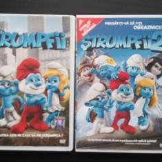 Stumpfii 1 si Strumpfii 2, filmele dublate in romana, 2 DVD -uri originale. - Film animatie columbia pictures