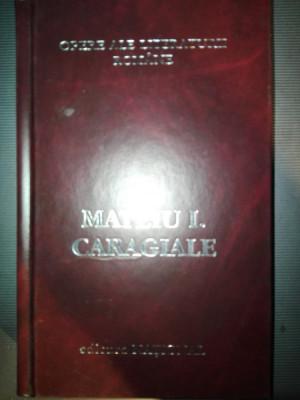 Mateiu I. Caragiale Opere ed National cartonata  622 pag An 2001 foto