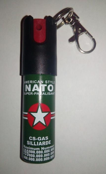 Spray Paralizant Nato Breloc Destinat Autoapararii 20 ML foto mare