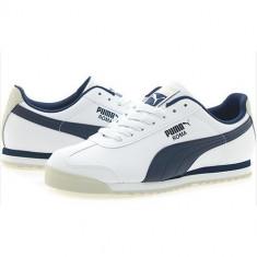 Adidasi originali 100 % barbati PUMA ROMA- pantofi sport, model clasic - Adidasi barbati Puma, Marime: 39, 42, 43, 44, Culoare: Din imagine, Piele sintetica