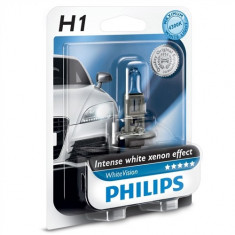 Bec H1 Philips WHITE VISION  XENON EFECT +60%  GR-IS-12258WHVB1