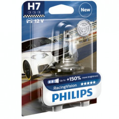 Bec H7 Philips Racing Vision +150% GR-IS-12972RVB1