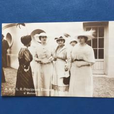 Familia Regala - Principesele - Carte Postala Muntenia 1904-1918, Circulata, Fotografie