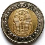 EGIPT - TUTANKAMON , 1 LIRA / ONE POUND 2008 , 25mm., Africa, Cupru-Nichel