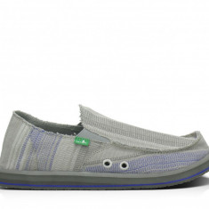 Espadrile barbati Sanuk model Donny Grey/blue marime 42, Culoare: Din imagine