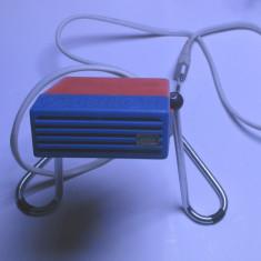 Un aparat ionizare aer ionizator, este functional