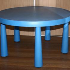 Masa si scaune Mammut copii (albastre) - Masuta/scaun copii Altele
