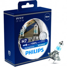 Set Becuri H7 Philips Racing Vision +150% GR-IS-12972RVS2