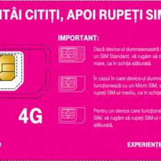 Cartela Telekom Cu Nr. GOLD