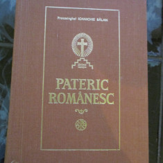 Pateric Romanesc - Ioanichie Balan - Carti Crestinism