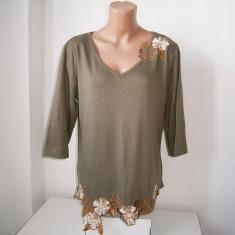 Bluza de dama XXL, kakhi, in stare buna! - Bluza dama, Culoare: Khaki