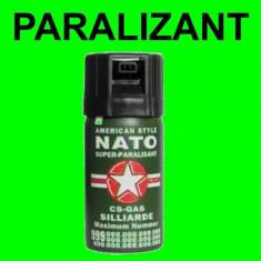 Spray paralizant NATO autoaparare cu PIPER lacrimogen