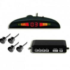 Sistem 4 Senzori Parcare cu Afisaj Display Led si Avertizare Sonora - Senzor de Parcare