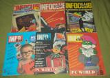 Lot sase reviste informatica anii 1990-1992 InfoClub (info club)