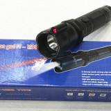 Electrosoc Metalic in Forma de Lanterna cu Laser HY - 1298