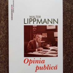 Opinia publica - Walter Lippmann