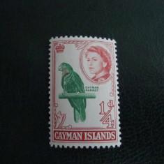 TIMBRU CAYMAN ISLAND ELISABETA II, Nestampilat