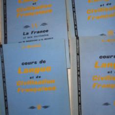 Curs de limba si civilizatie franceza 4 volume - Mauger - Curs Limba Franceza