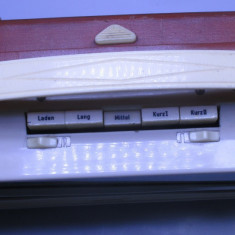 Radio vechi foarte rar pe lampi si pe baterii portabil german 1960 functional - Aparat radio
