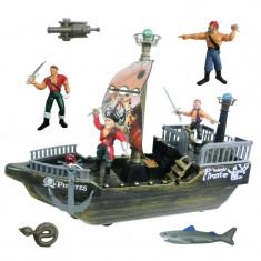 Set de joaca nava pirat, 4 figurine - Spatiu de joaca