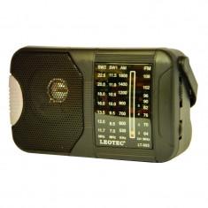 Radio portabil Leotec LT-503, 3 benzi, mufa jack - Aparat radio