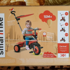 Vand tricicleta smart trike carnival noua - Tricicleta copii