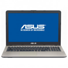 Laptop ASUS 15.6'' VivoBook X541UA, FHD, Procesor Intel® Core™ i5-7200U, 4GB DDR4, 128GB SSD, GMA HD 620, FreeDos, Chocolate Bla