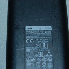 Incarcator laptop original DELL 19.5V 65W 3.34A model LA65NM130 mufa 7.4*5.5mm