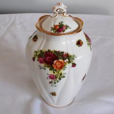 Vaza - portelan englezesc - Royal Albert - Old Contry Roses - 1962 - NOUA!!!