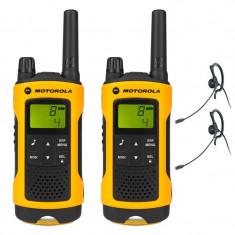 Statii radio profesionale Motorola T80 Extreme, 10 Km, LCD - Statie radio