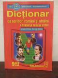 DICTIONAR SCRIITORI ROMANI SI STRAINI -IONELA STROIA