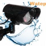 Camera de Supraveghere Falsa cu LED - aspect realist - WATERPROOF - Camera falsa
