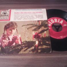 DISC VINIL VARIOUS-SUBER DIE GLOCKEN NIE KLINGEN MUZICA SARBATORI ANII 60 - Muzica pentru copii
