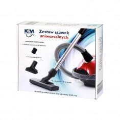 Set perii universale aspirator K&M, 28-38 mm