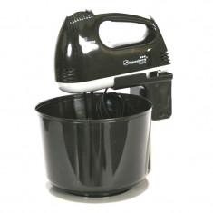 Mixer cu bol Hausberg, 250 W, 7 trepte, Negru
