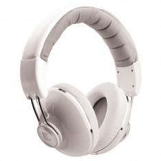Casti Over-Ear Konig, jack 3.5 mm, Alb, Cu fir, Mufa 3, 5mm