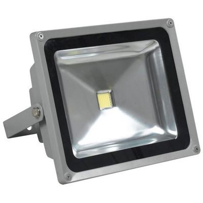 Proiector cu LED, 30 W, ECO LED, Gri foto