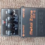 Pedala Boss Metal zone MT-2 - Efect Chitara