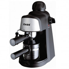 Espressor Zass, 800 W, 4 cesti, 5 bari