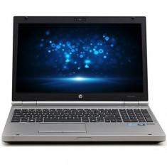 Laptop Refurbished HP EliteBook 8560p, Intel Core i7-2620m, 4GB Ram DDR3, Hard Disk 320GB, DVD, display 15.6 inch, tastatura numerica, Windows 10 Pr