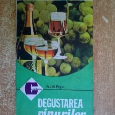 Aurel Popa – Degustarea vinurilor