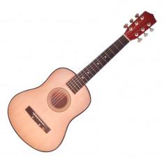 Chitara din lemn pentru copii, 75 cm - Chitara clasica