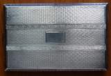 Tabachera din argint , emailata , interbelica ; 153 grame