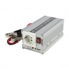 Invertor tensiune HQ, 300 W, 24-230 V, 50 Hz, USB