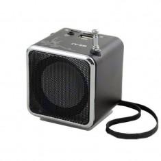 Boxa portabila Wster WS-A7, radio FM, USB, card