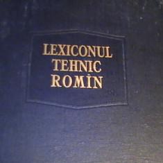 LEXICONUL TEHNIC ROMAN-VOL1-INTOCMIT-A.S.I.T.-COORD. REMUS RADULET-