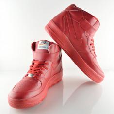 Nou ! Adidasi NIKE Air Force Rosii COD AF003 - Adidasi barbati